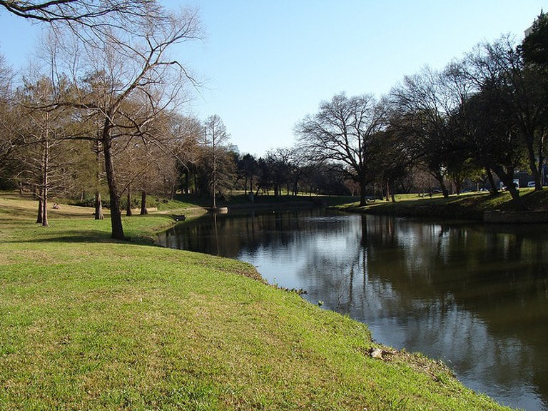Turtle Creek is a serene area that's great for a picnic or walking the dog