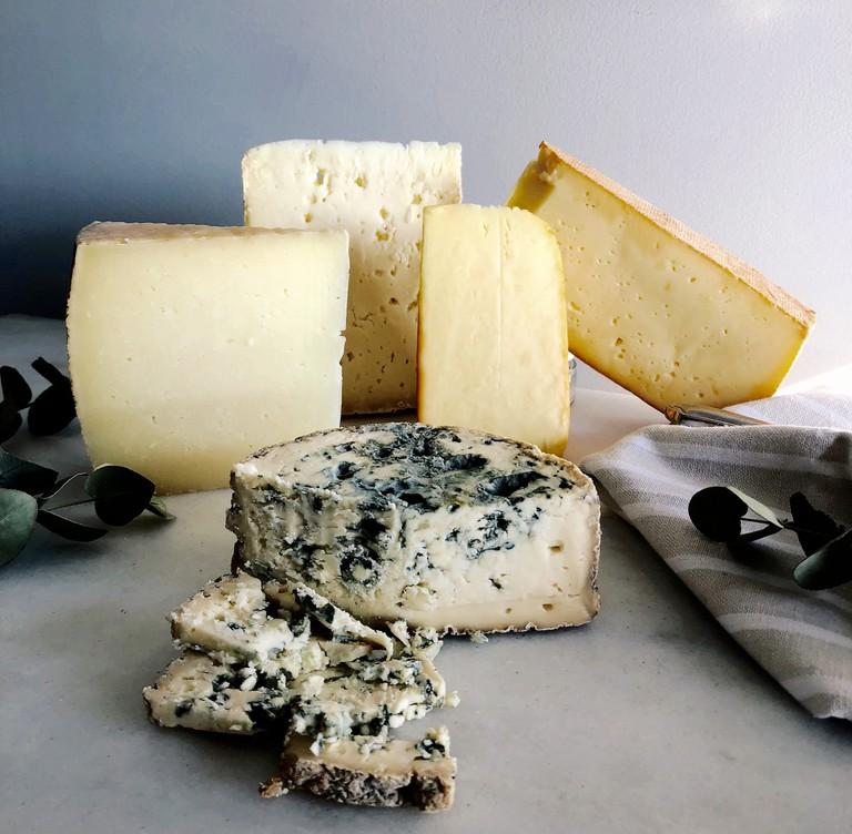 Asturian cheeses, Spain