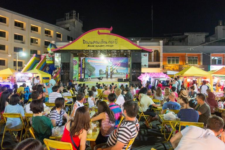 Krabi's Walking Street Night Market