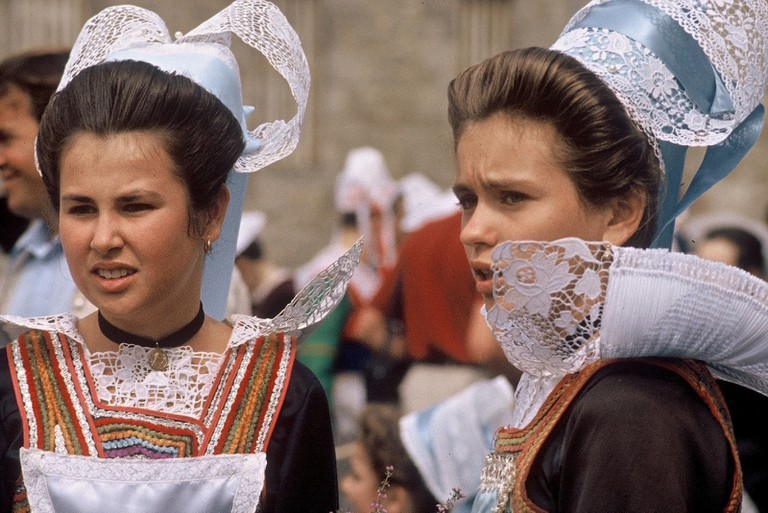 Traditional Breton costumes