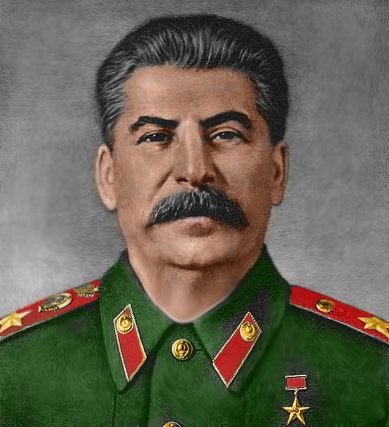 Stalin died suddenly in 1953