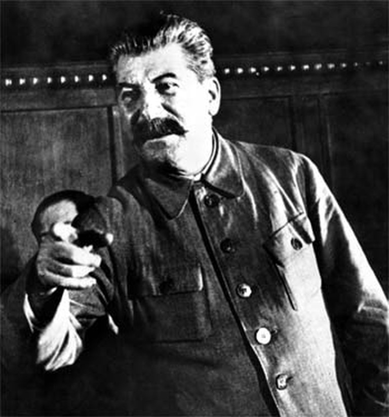 Khrushchev exploded Stalin's cult of personality.