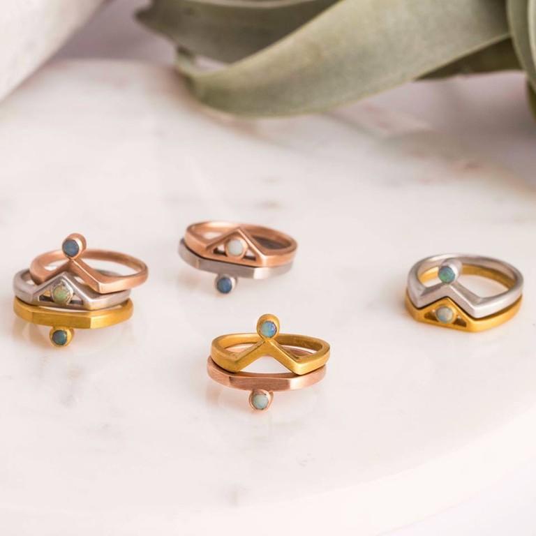 Πριγκιπώ (Prigipo) rings
