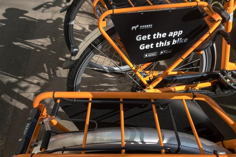 donkey Republic bike rental