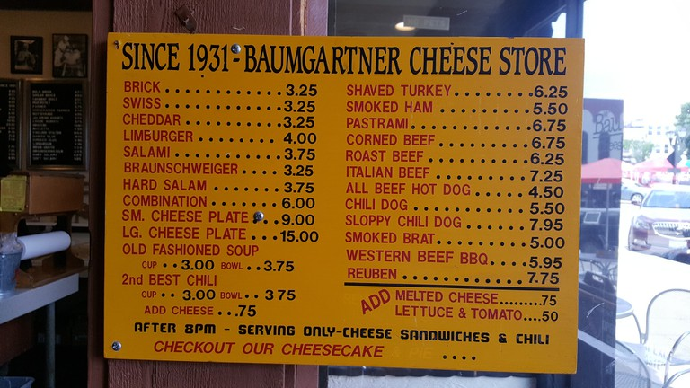 Baumgartner's Cheese Store & Tavern in Monroe