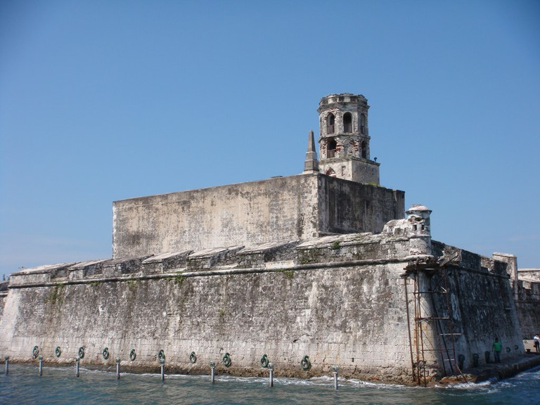 The Fort of San Juan in Veracruz