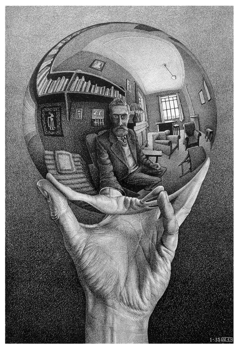 3. Hand with Reflecting Sphere copy