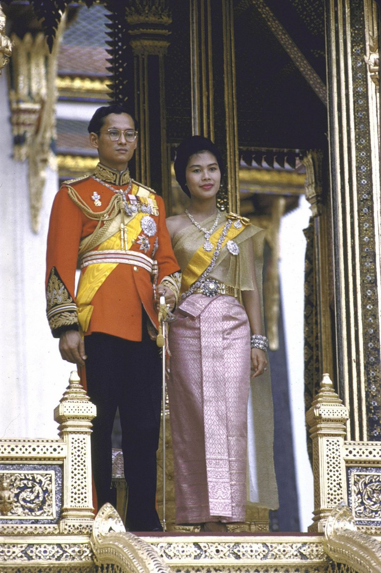 The Thai King and Queen in the 1960s