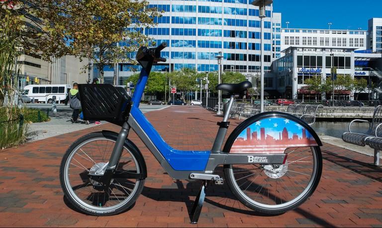 Bicycle, Bike share, Baltimore Bike Share, Baltimore, Maryland