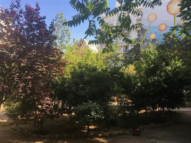 Park Navarinou, Exarcheia