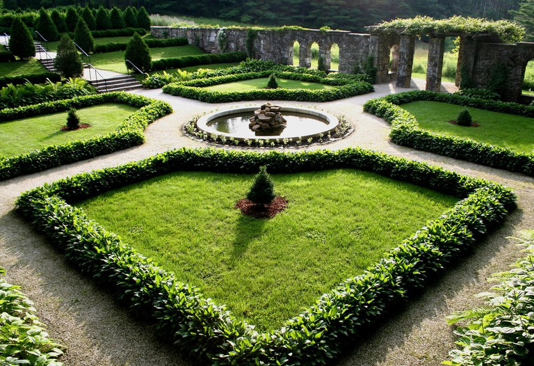 The gardens at The Mount