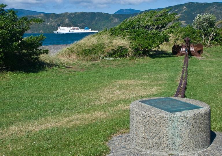 Wahine memorial, Seatoun, Wellington, New Zealand