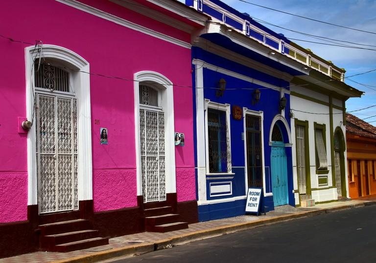 Houses in Granada, Nicaragua