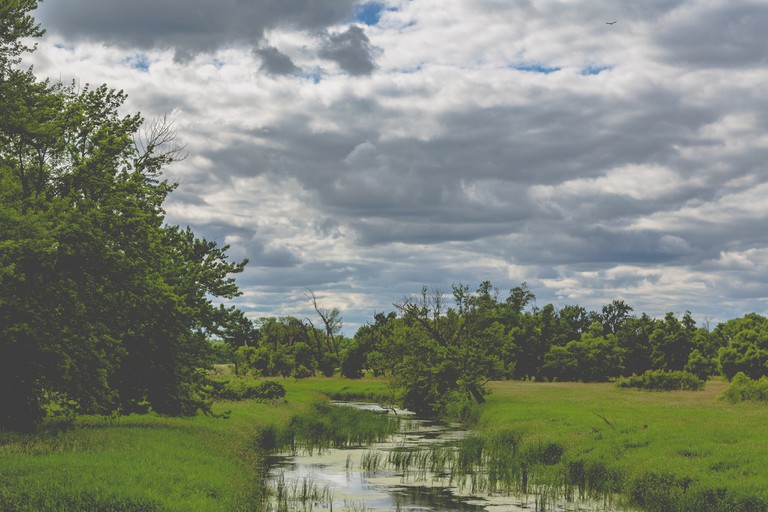 The Minnesota River at Big Stone National Wildlife Refuge