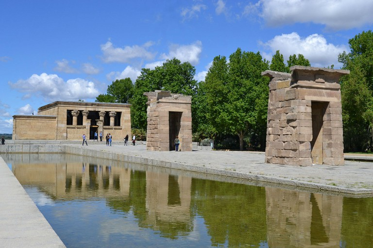 The Egyptian Temple of Debod