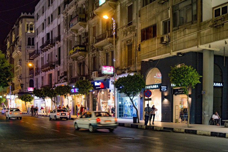 Downtown area, Cairo