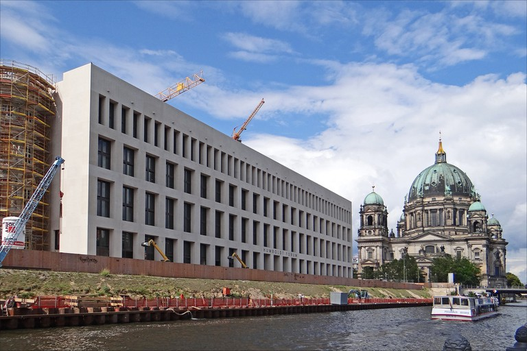 The City Palace is located on Museum Island