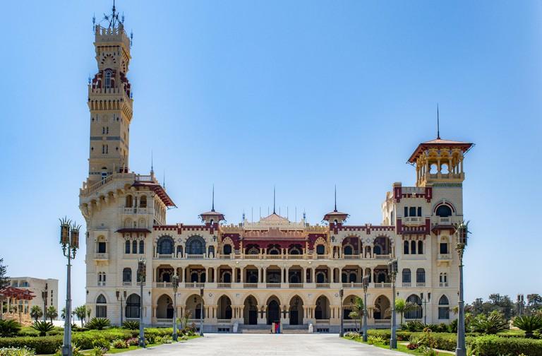 Montazah Palace in Alexandria, Egypt
