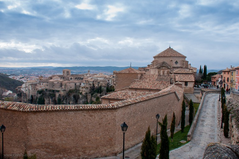 Visit Cuenca in Spain to see the Hanging Houses