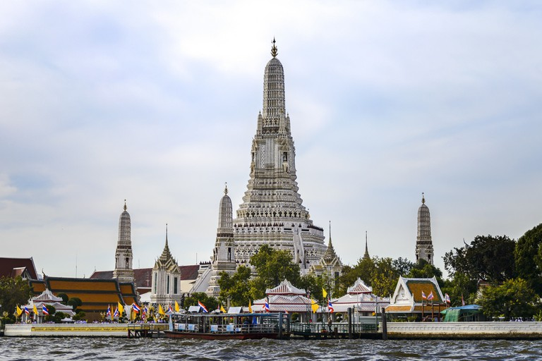 Bangkok's Wat Arun by day