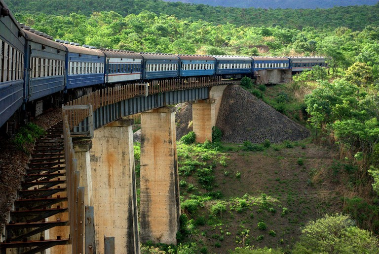 The Tazara runs from Kapiri Mposhi to Dar es Salaam