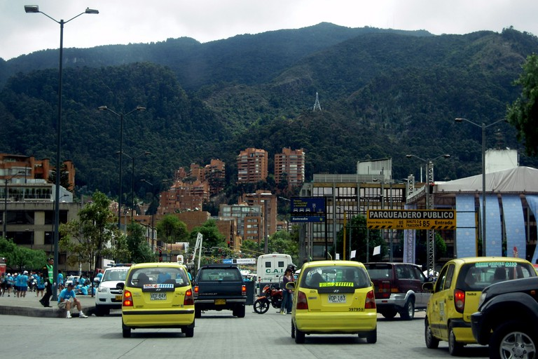 Taxis in Colombia