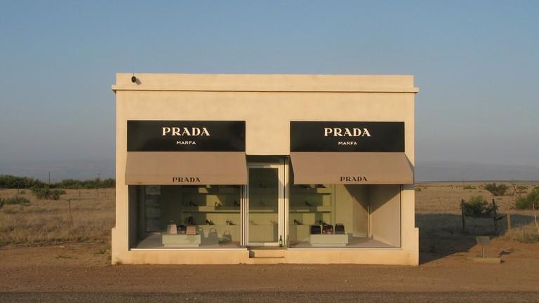 The famous Prada Marfa
