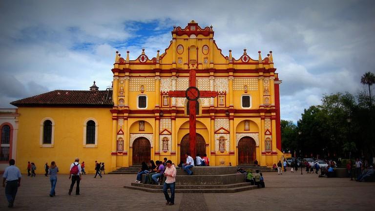 San Cristóbal de las Casas' central church