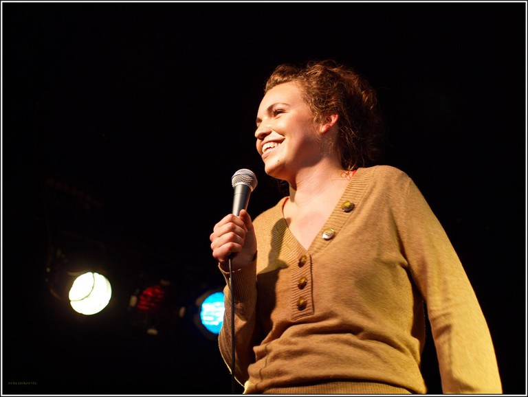 Beth Stelling got her start in Chicago and now tours the country doing stand-up comedy.
