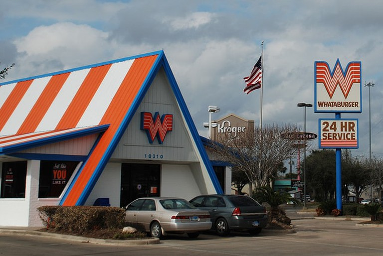 Whataburger is a 24-hour fast food restaurant that Texans love