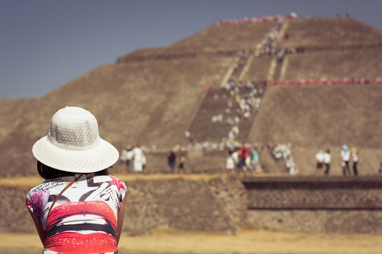 You can witness the spring equinox at Teotihuacán