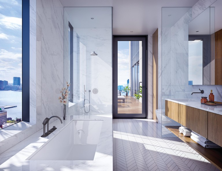 Interiors designed by world-renowned Skidmore, Owings & Merrill (SOM) at 570 Broome