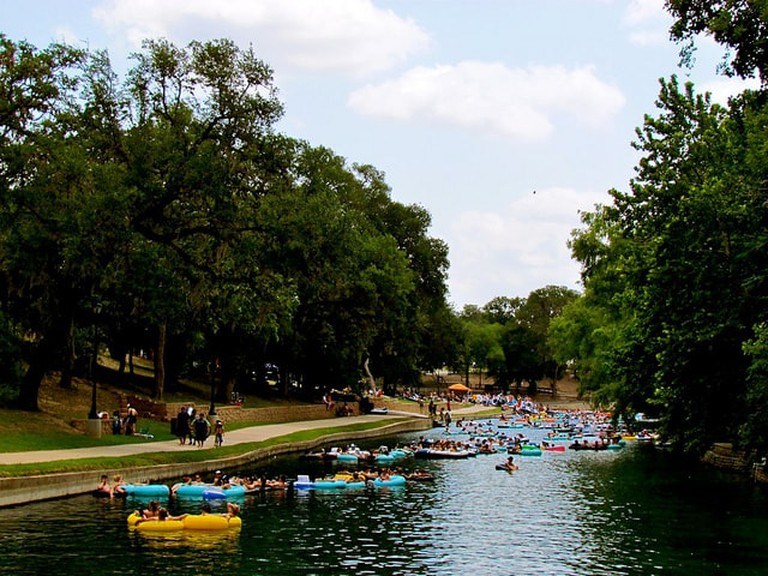 New Braunfels is a wonderful place to tube in Texas