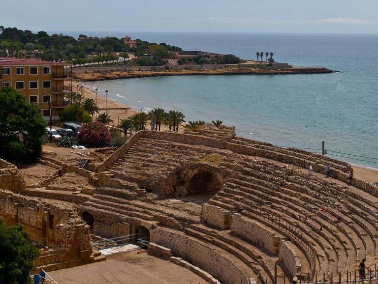 The Roman amphitheatre of Tarragona