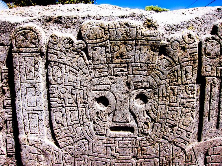 Tiwanaku carvings