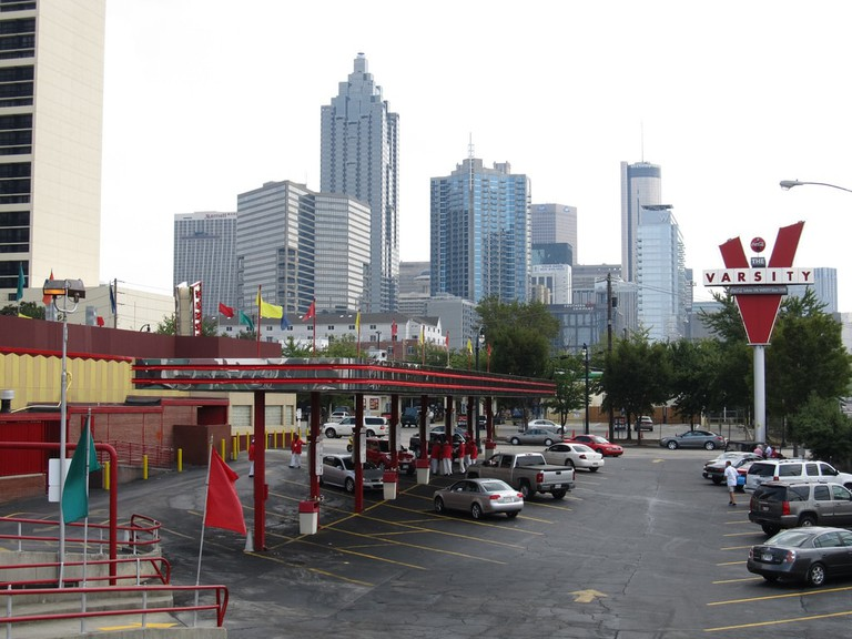 The Varsity, the world's largest drive-in restaurant