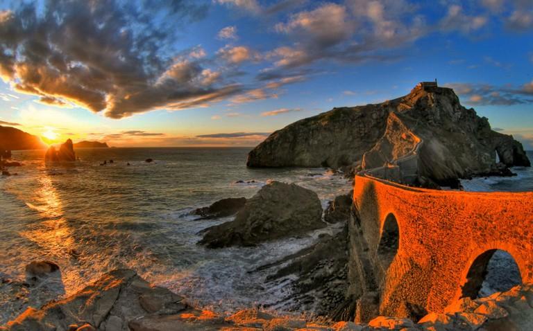 Gaztelugatxe, in the Basque Country, was Daenerys Targaryen's ancestral home, Dragonstone