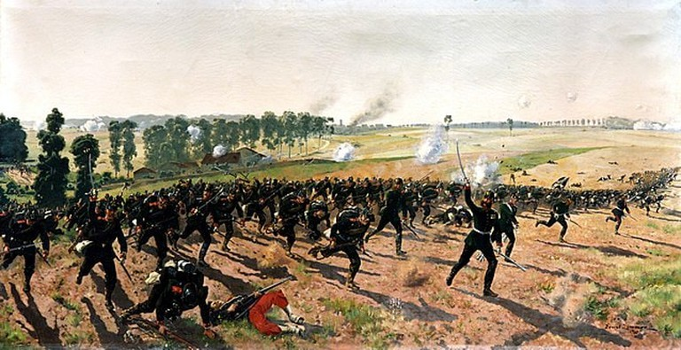 640px-Ernst_Zimmer_-_Das_Lauenburgische_Jäger-Bataillon_Nr._9_bei_Gravelotte