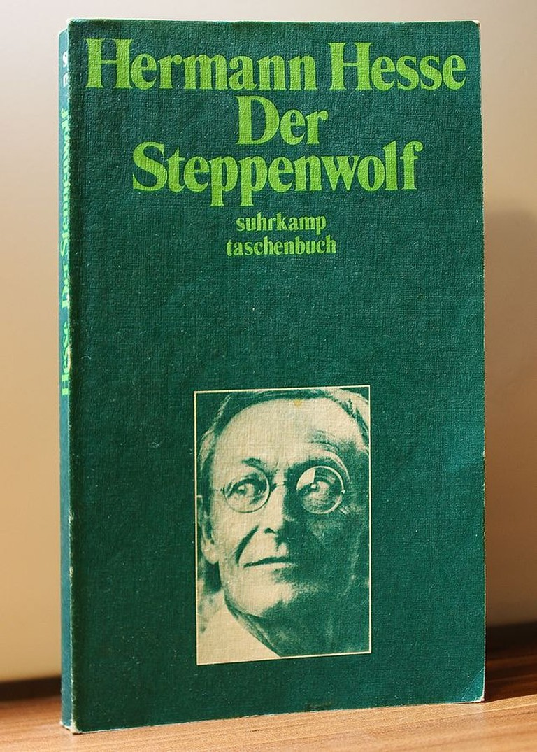 "Hermann Hesse's novel ""Steppenwolf"" inspired the theatre company's name."