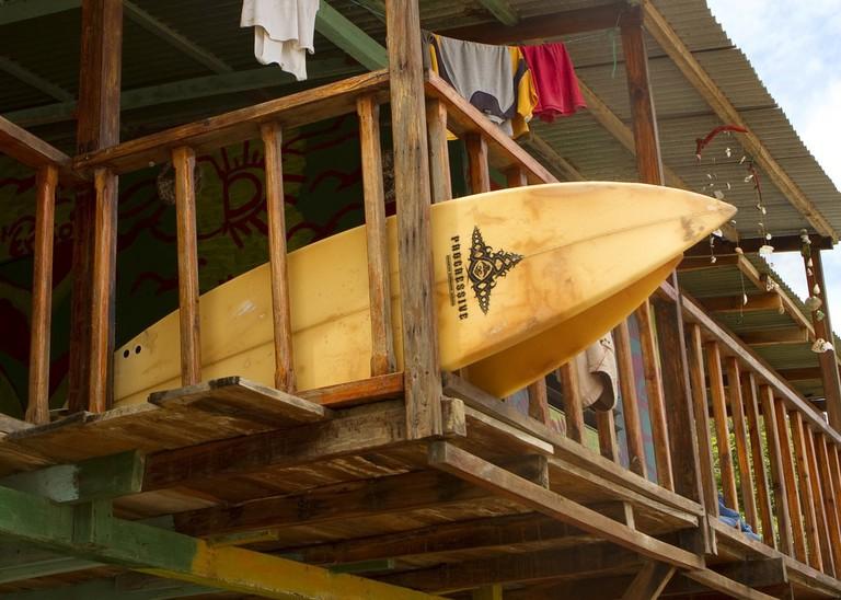 Surfboards in Nicaragua