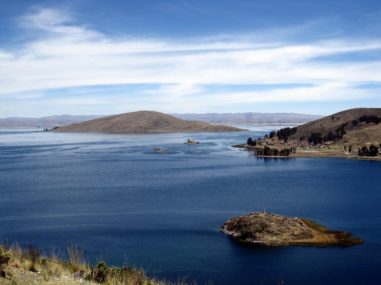 View from Isla del Sol