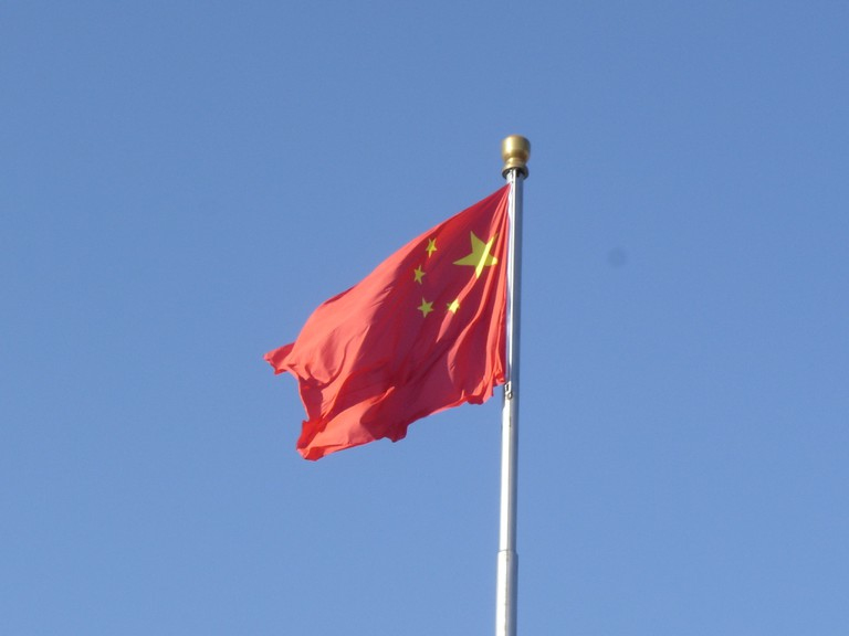 The Chinese flag. Some argue China is now setting the world agenda.