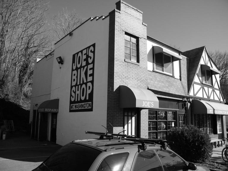 Joe's Bike Shop, Mount Washington, Baltimore, Maryland