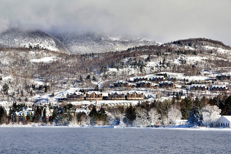 Canada is an easy flight from Dallas with great places to ski like at Mont Tremblant