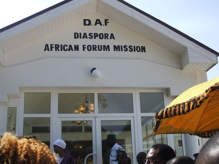 Diaspora African Forum (DAF), an African Union (AU) initiative, officially launched in 2005