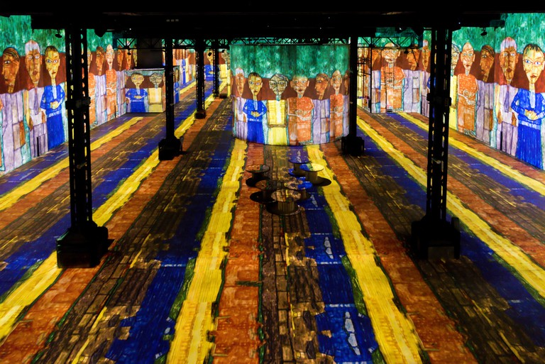 Explore art in a new way at Atelier des Lumieres