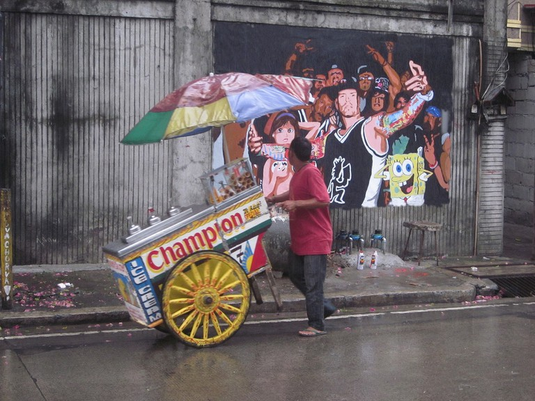 Street art in Manila
