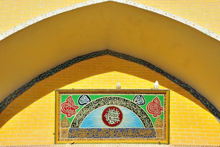 Etgal Mosque, Kashi