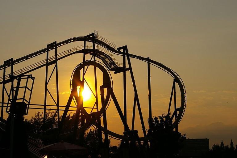 roller coaster, la ronde, montreal