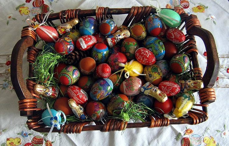 The colourful eggs of Serbian Easter